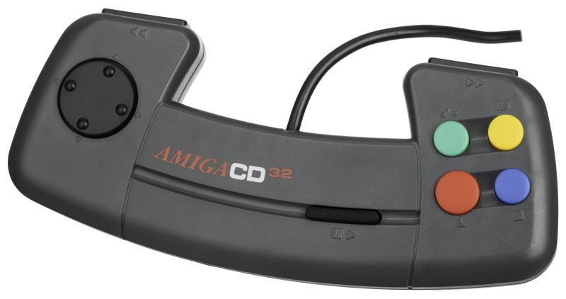 Controller Amiga Cd32 - Amiga Cd32, la sfortunata console della Commodore