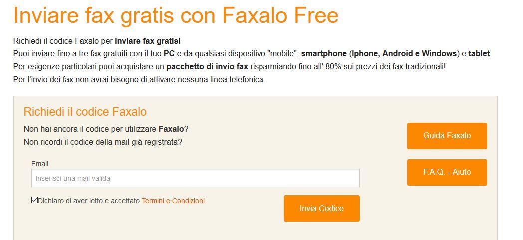 Come inviare fax gratis