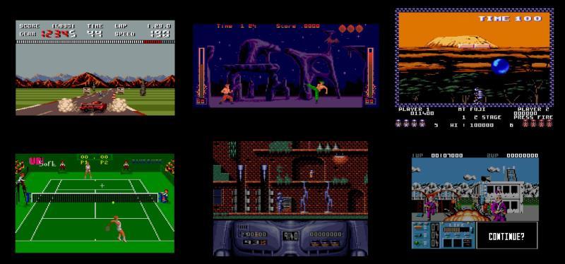 Giochi AMSTRAD GX 4000